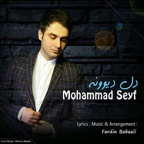 آهنگ جدید محمد سیف بنام دل دیوونه