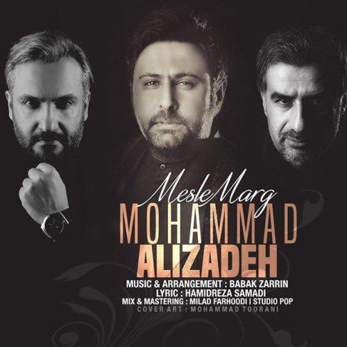 آهنگ جدید محمد علیزاده بنام مثل مرگ