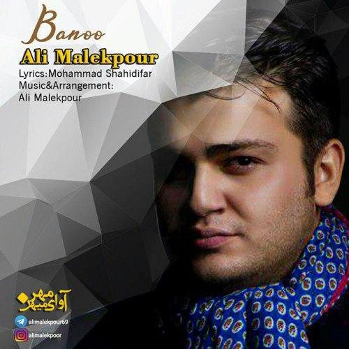 آهنگ جدید علی ملک پور بنام بانو